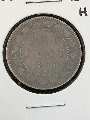 Canada Large cent 1876 H
