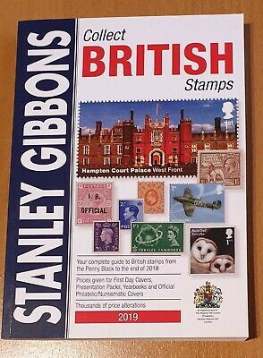 2019 Stanley Gibbons Collect British Stamps catalogue. Never been used.