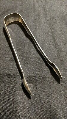 Silver Tongs By William Constable Of Dundee (Hallmark For Edinburgh 1815)