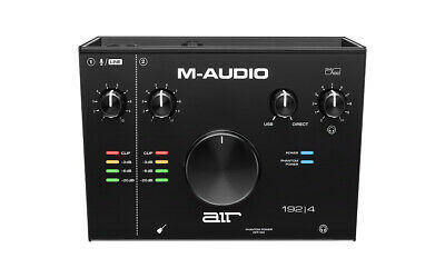 M-Audio AIR 192 X 4 2-In/2-Out 24/192 USB Audio Interface