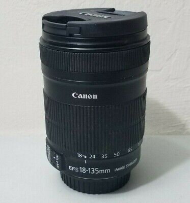 Canon EF-S 18-135mm f/3.5-5.6 IS Zoom Lens for EOS DSLR Camera *GOOD/TESTED*