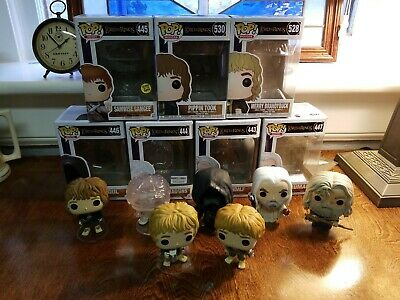 Lord Of the Rings Funko 7 pop Lot
