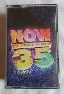 Various Artists: NOW THAT'S WHAT I CALL MUSIC! 35 **CASSETTE ONE ONLY**