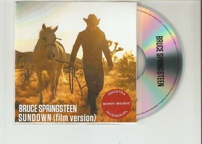 "Bruce Springsteen ""Sundown"" Rare Brazilian Cd Promo"