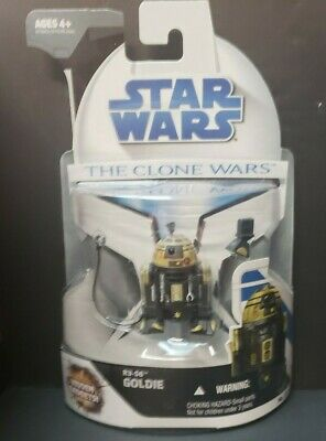 Star Wars - The Clone Wars Action Figure - R3-S6 GOLDIE (3.75 inch) #23 -