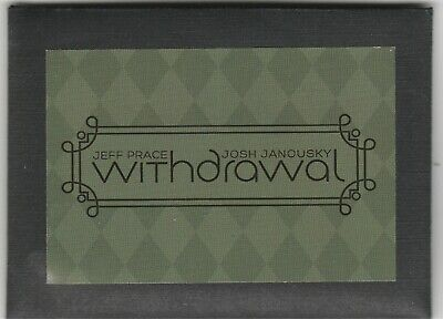 Withdrawal (Dollars) by Jeff Prace Josh Janousky Gift Card Magic
