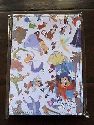 Disney Parks Ink&Paint Sorcerer Mickey &Disney Character Notebook Nwt