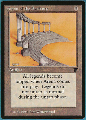 Arena of the Ancients Legends MINT Artifact Rare MTG CARD (ID# 102389) ABUGames