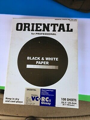 Oriental Seagull VC-RCII glossy 8x10  50 sheets film photography