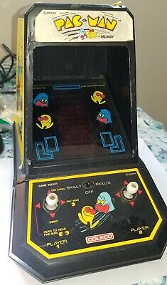 Vintage 1981 Midway Pac-Man Coleco Tabel Top Arcade Game Works Free Shipping