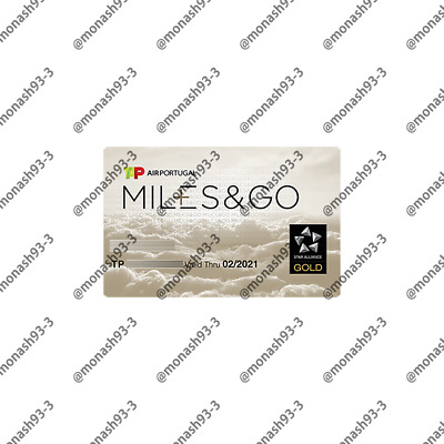 INSTANT UPGRADE TAP Air Portugal Star Alliance Gold Status Miles&Go to 02/21