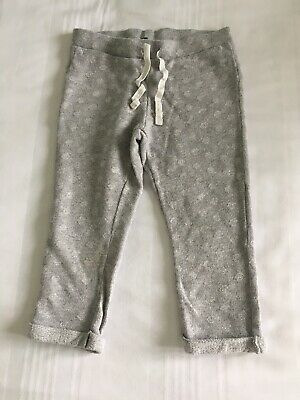 Baby Girls United Colors Of Benetton Grey Jogging Bottoms Age 2