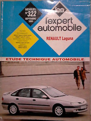 RENAULT Laguna - Revue technique L'Expert Automobile