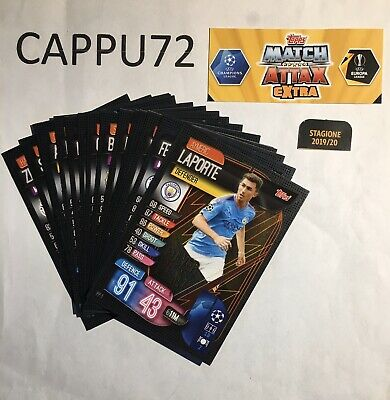 Power Play Completa-Match Attax Extra Topps Champion/Europa League 2019-20