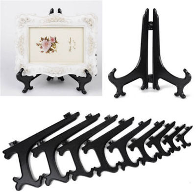 LN_ 4 Sizes Display Stand Easel Picture Frame Bowl Plate Display Stands Holder