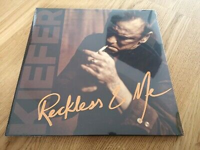 Kiefer Sutherland - Reckless And Me BRAND NEW VINYL LP + ART PRINT country 24