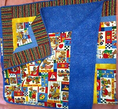 New Handmade Baby Quilt with  pillowcase