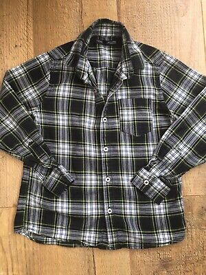 Lovely Boys Next Blue Checked Shirt, Aged 9 Yrs, Exc Cond