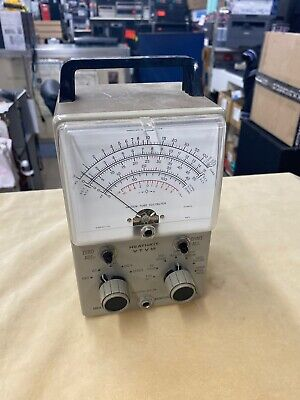 Heathkit VTVM Vintage Vacuum Tube Volt Meter - Untested - Powers On