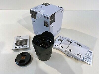 Sony SEL E 10-18mm f/4 OSS Lens wide angle zoom very good condition little used.