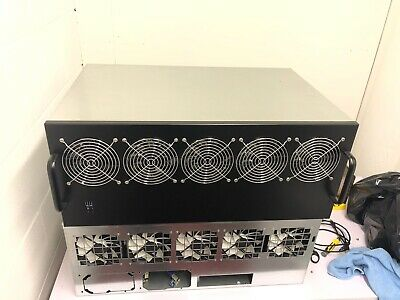 Up To 13 GPU Mining Chassis With Fans