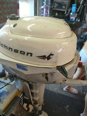 johnson sea horse  3 hp outboard engine