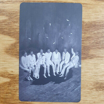 Group Official Photocard BTS Map Of The Soul : 7 Version 1 Genuine Kpop