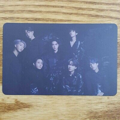 Group Official Photocard BTS Map Of The Soul : 7 Version 2 Genuine Kpop