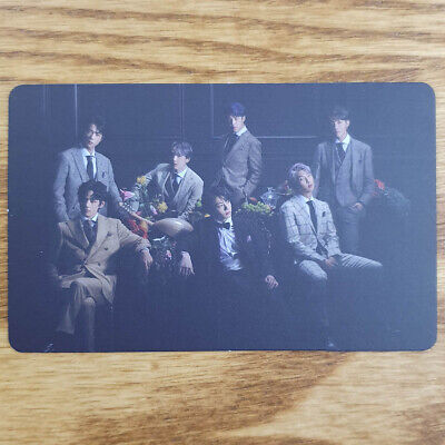 Group Official Photocard BTS Map Of The Soul : 7 Version 3 Genuine Kpop