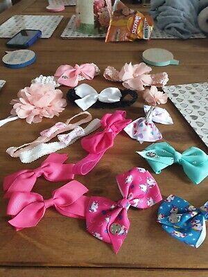 baby girls head bands bows