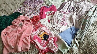 Girls Clothes Bundle Size 4-5years.pjs.swimsuits