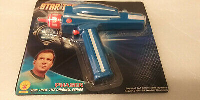 Star Trek: The Original TV Series Authentic Phaser Costume Toy Rubies NEW MOC