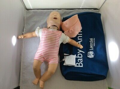 Laerdal Baby Anne Infant Nursing Training Cpr Manikin & Duffle Bag
