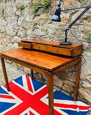 Scandinavian Arts and Crafts  Solid Rosewood Floating office desk