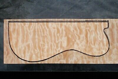 """Awesome Quilted Maple 20"""" X 7"""" X 2 1/16"""": Guitar, Luthier, Craft, Scales"""