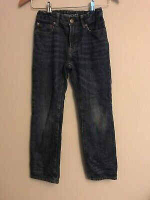 GAP Boys Straight Fit Jersey Lined Jeans Aged 8Yrs