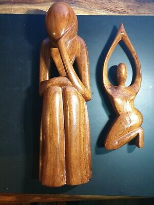 Solid Heavy Quality Wooden Carvings.