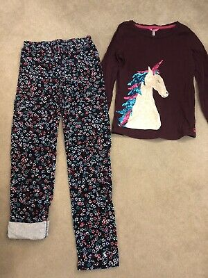 Joules Girls Top & Trousers Sz 11-12 Years