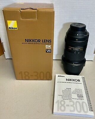 Nikon NIKKOR 18-300mm f/3.5-5.6 AS DX G SWM AF-S VR SIC IF ED M/A Lens