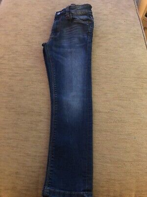 Boys Blue Next Jeans Age 6 Good Condition - Hardly Worn
