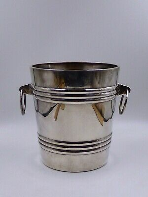Vintage WMF Silver Plate Wine/Champagne Cooler Mid Century Mod