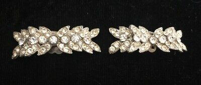 Vintage Abstract Rhinestone Shoe Accent Shoe Clips Sku111904P