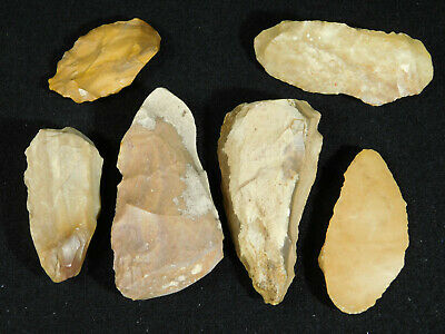 Big Lot of 3,000 to 8,000 Year Old! Neolithic Artifacts! From Dakhla Morocco 154