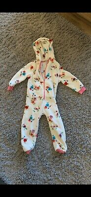 Girls Next Floral Hooded All In One Age 5