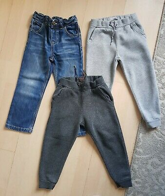 Boys Bundle: Joggers/Jeans 3-4 Years