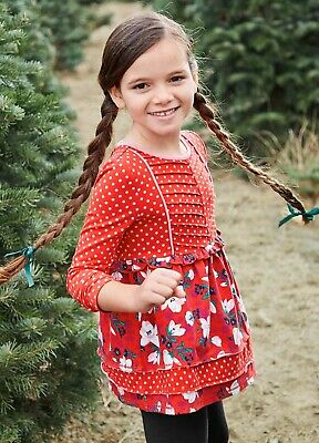 Girls Matilda Jane Moments with you Cheerful Day Tunic size 8 NWT