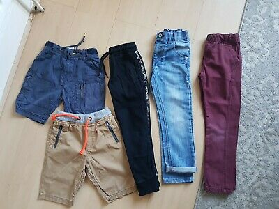 Boys Bundle: Trousers/playstation joggers/shorts/jeans Next/Tu 6 Years