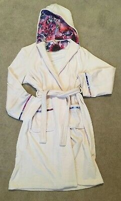 Girls Baker By Ted Baker Pale Pink Dressing Gown Age 13-14 Yrs