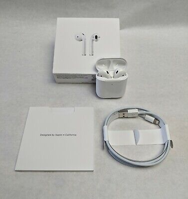 Apple AirPods 2nd Generation with Wireless Charging Case - White - MRXJ2AM/A