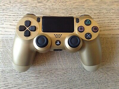 SONY PLAYSTATION 4 PS4 DualShock Wireless Controller  - Gold